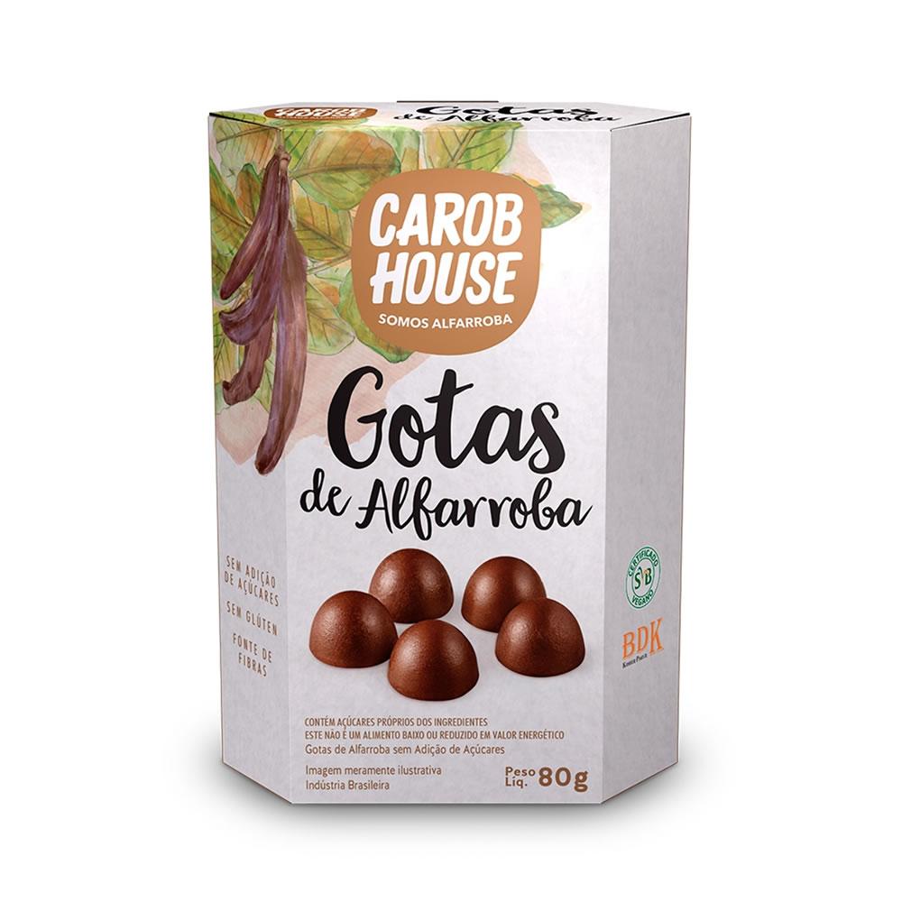 Gotas de Alfarroba 80g - Carob House