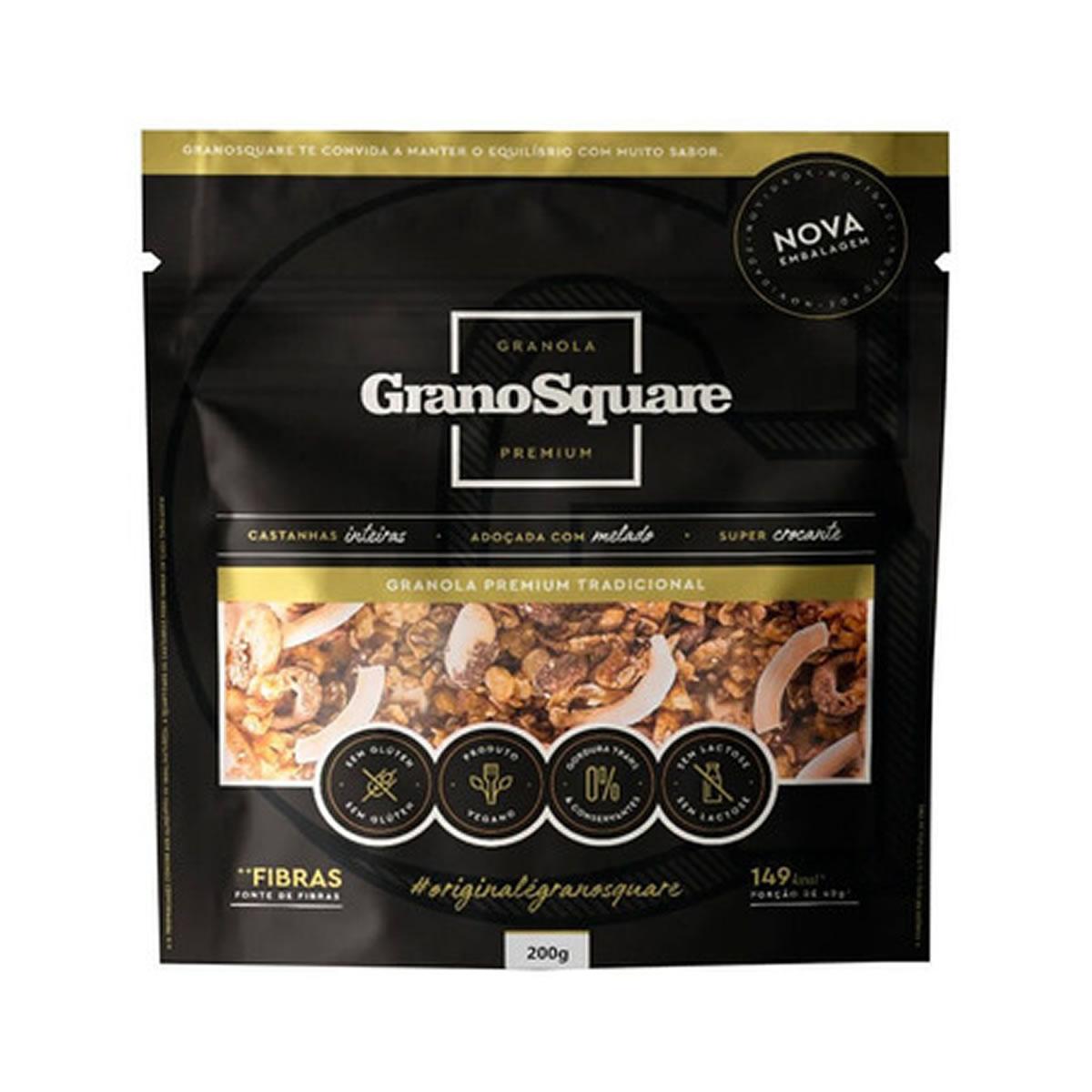 Granola Premium Tradicional 200g - GranoSquare