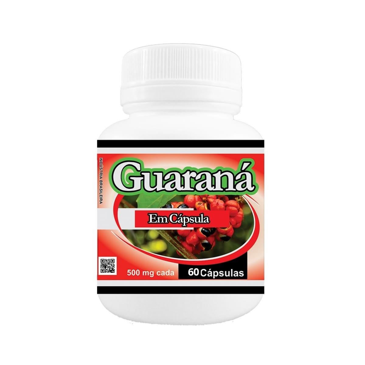 Guaraná 500mg 60 cápsulas - Poly Flora