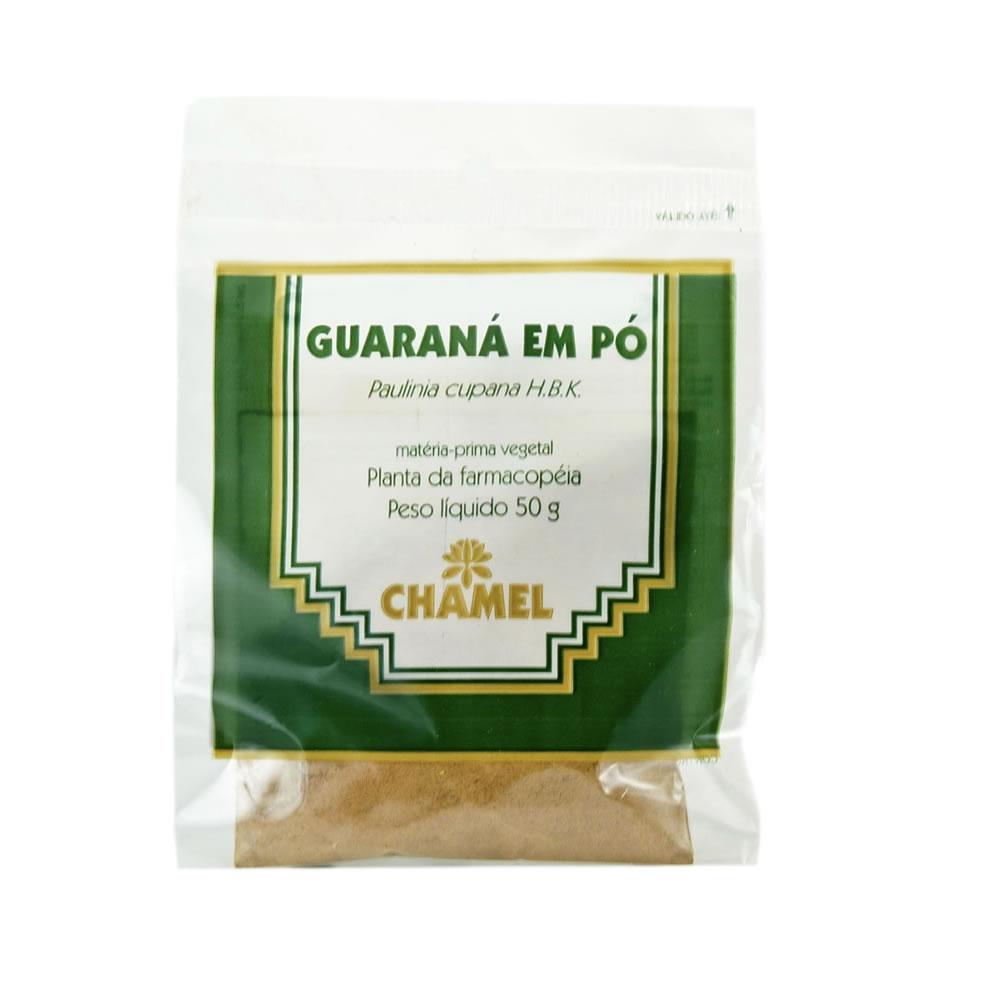 Guaraná em Pó 50g - Chamel