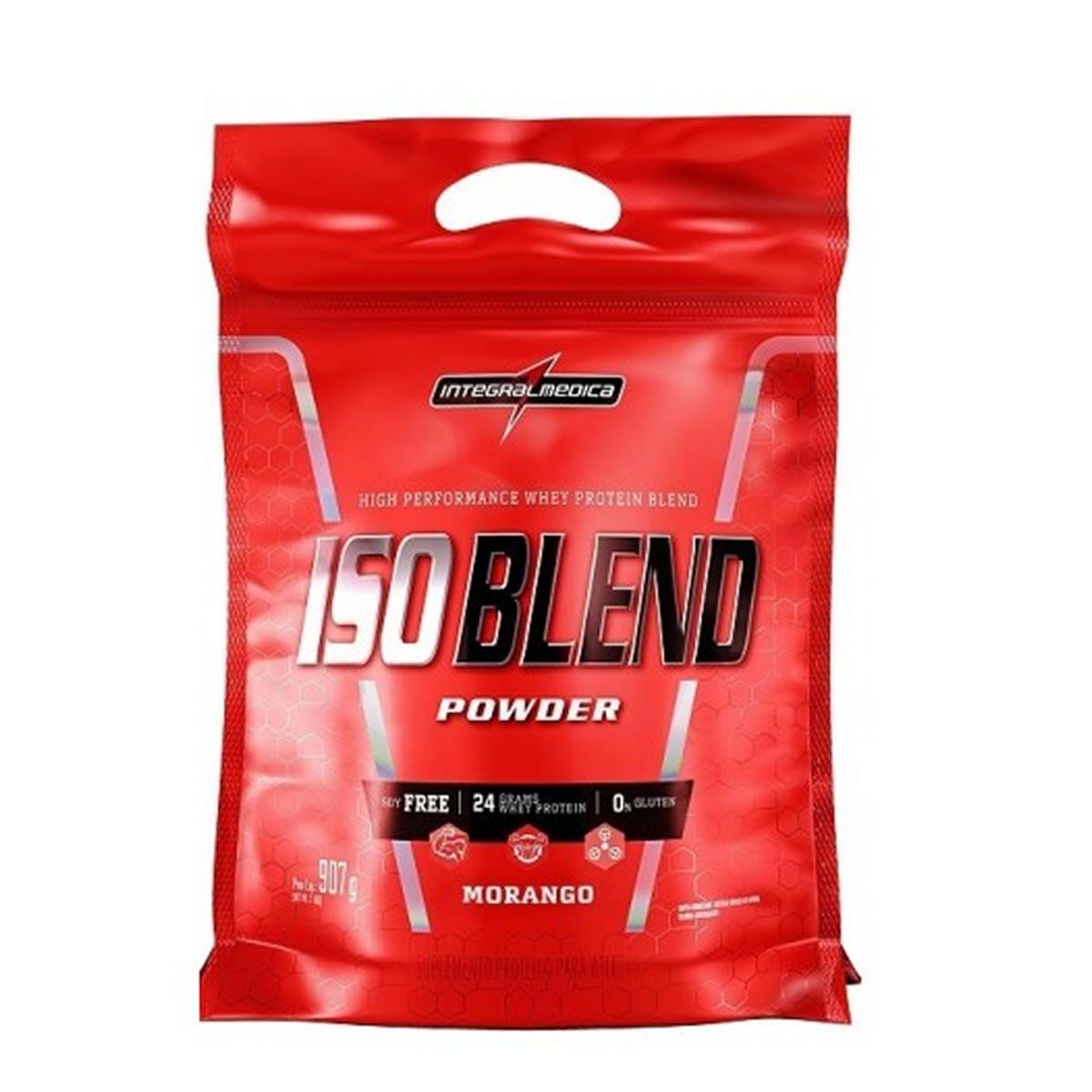 Iso Blend Complex sabor Morango 907g - Integralmedica