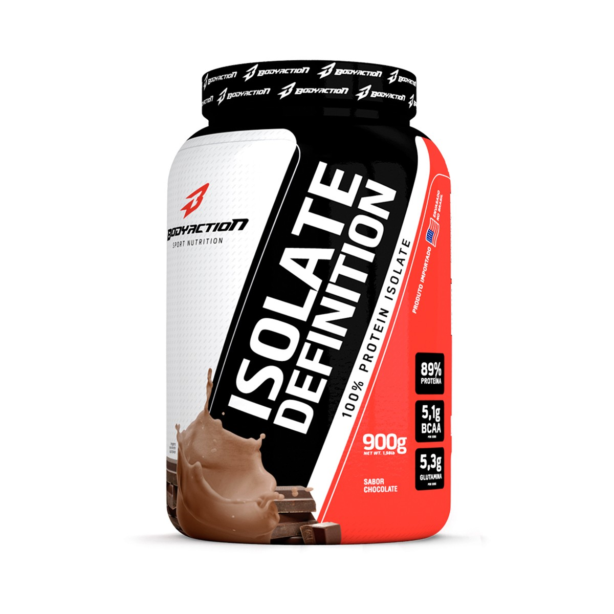 Isolate Definition Chocolate 900g - Bodyaction