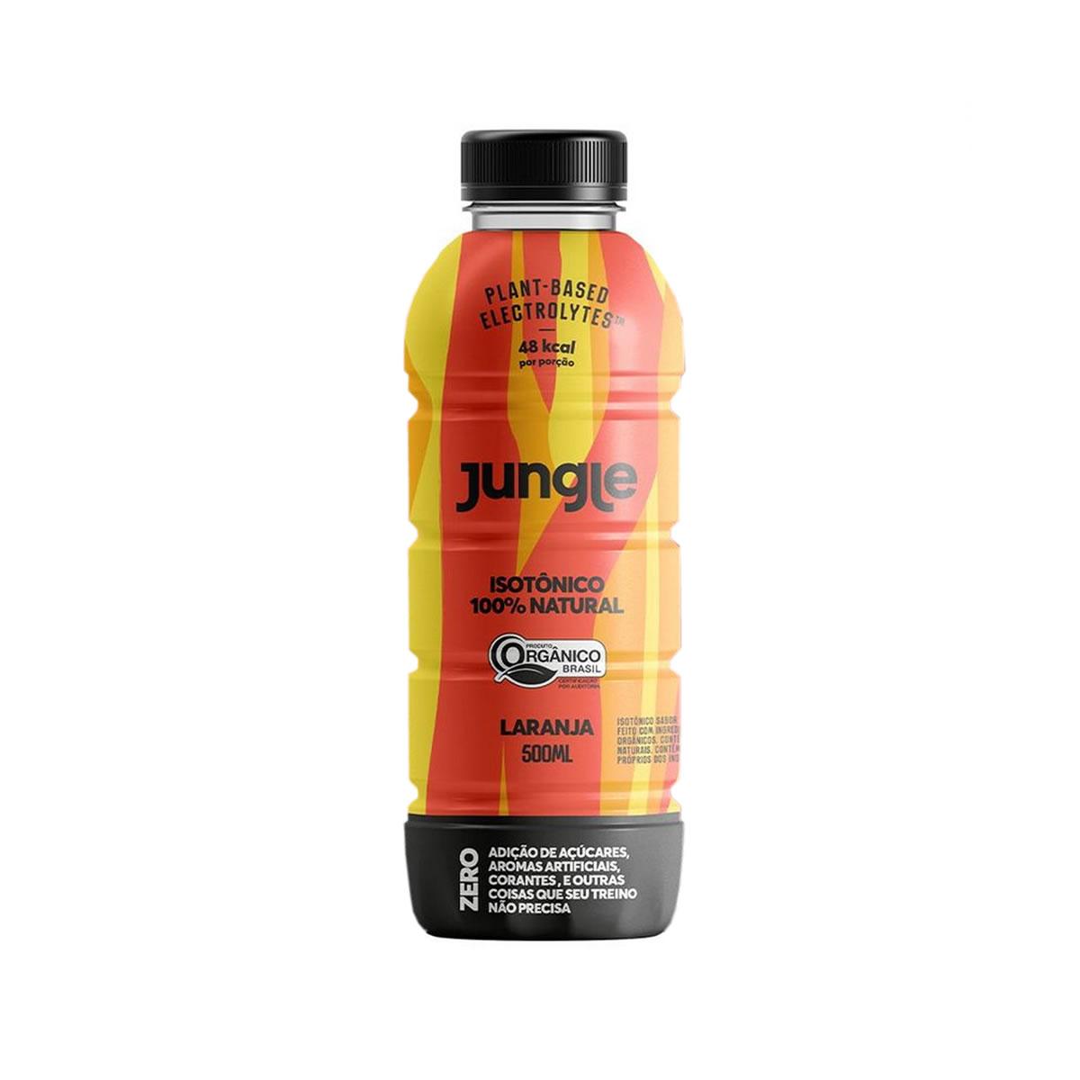 Isotônico 100% Natural Sabor Laranja Orgânico 500ml - Jungle