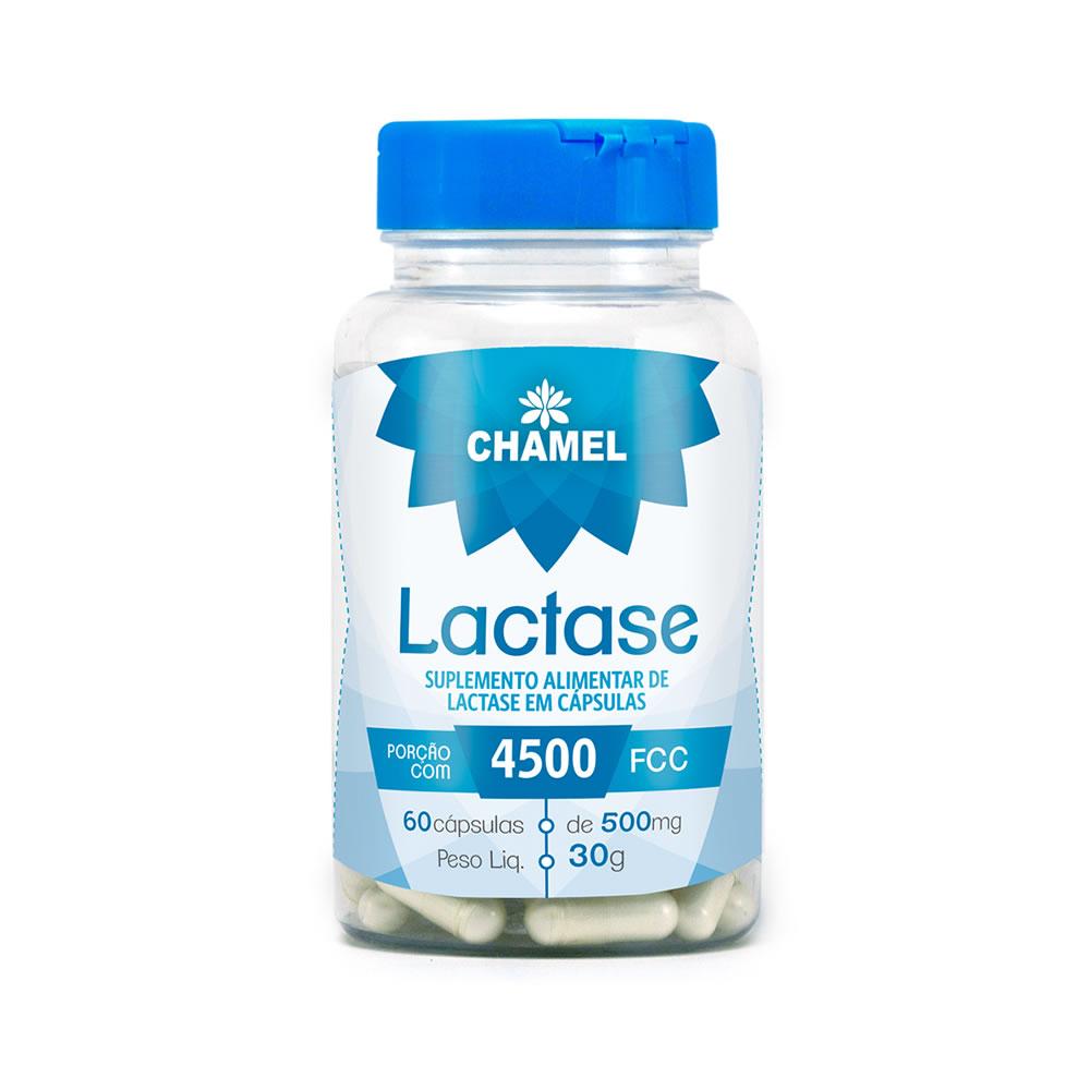 Lactase 500mg 60 Cápsulas - Chamel