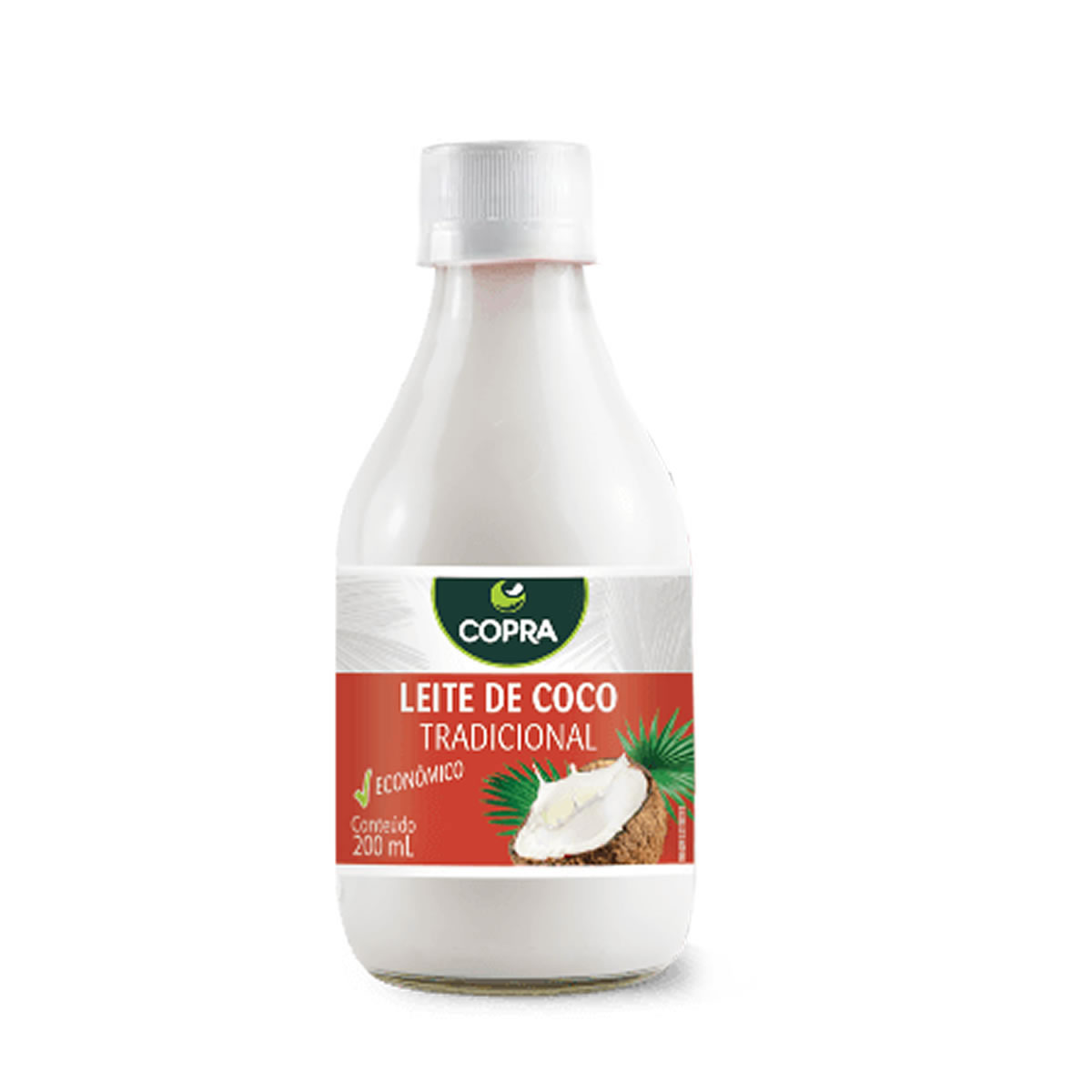 Leite de Coco pet 200ml - Copra