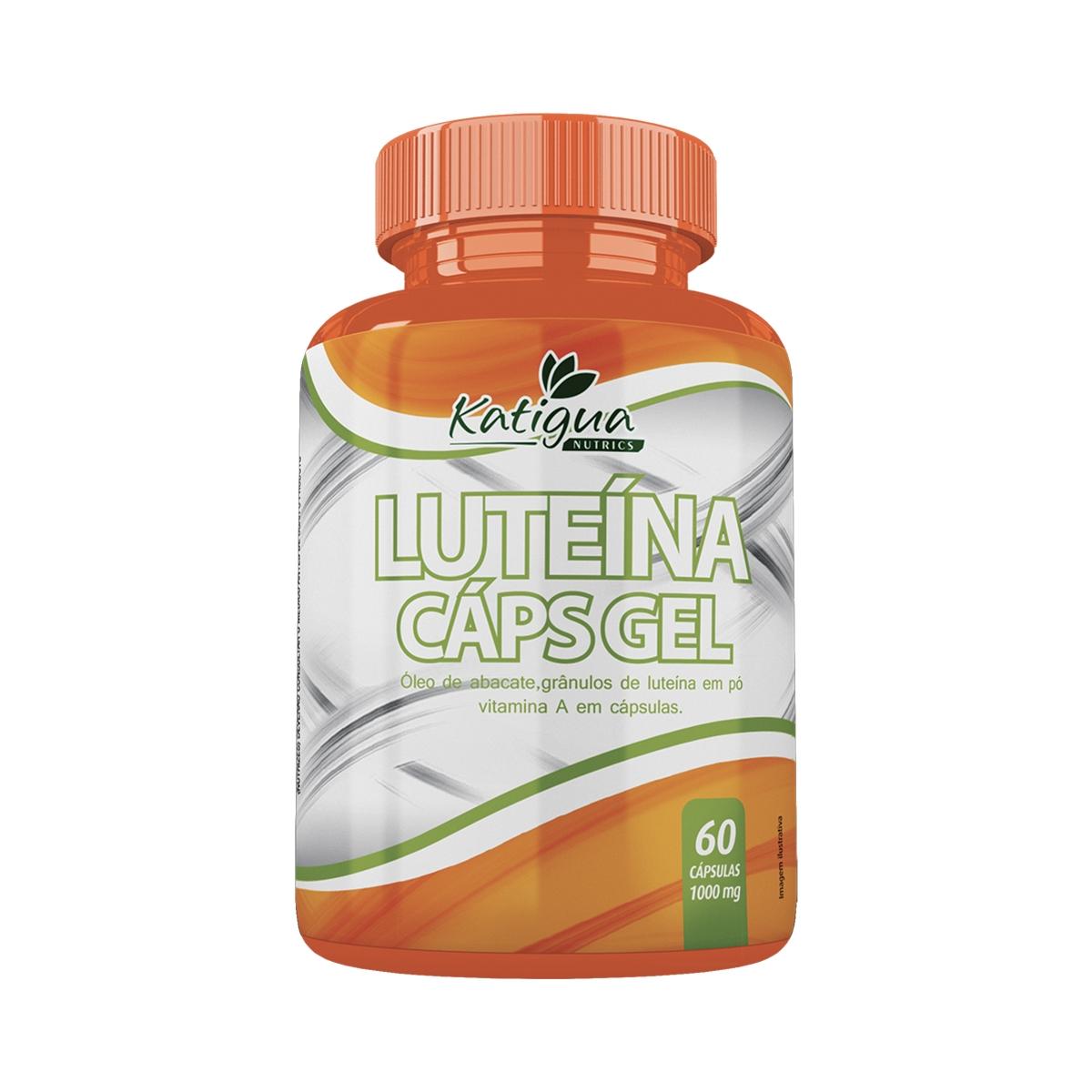 Luteína 1000mg com 60 cápsulas - Katigua