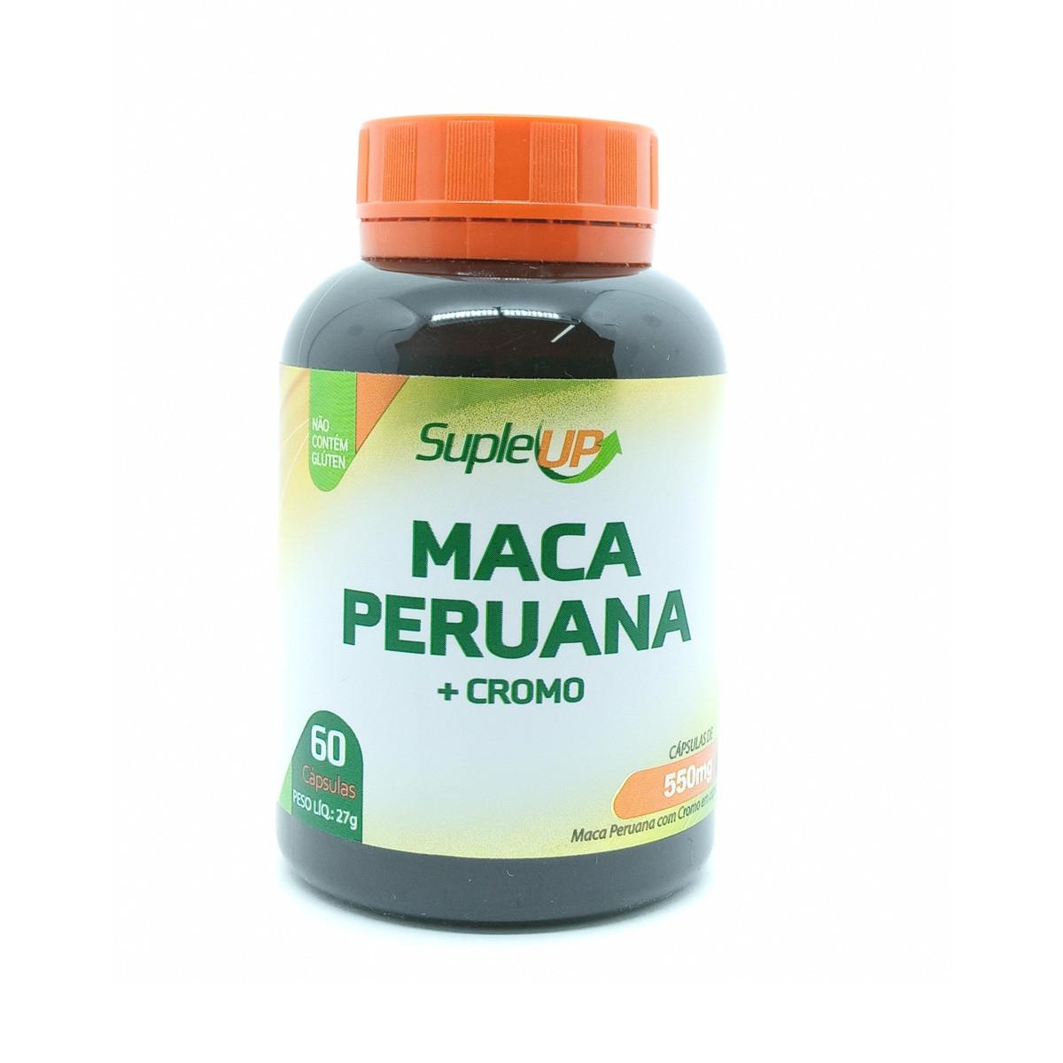 Maca Peruana 550mg 60 cápsulas - Suple Up