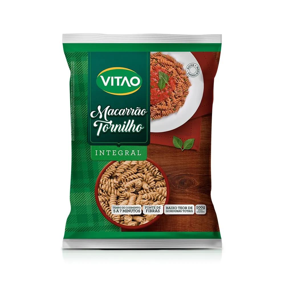 Macarrão Integral Tornilho 500g - Vitao