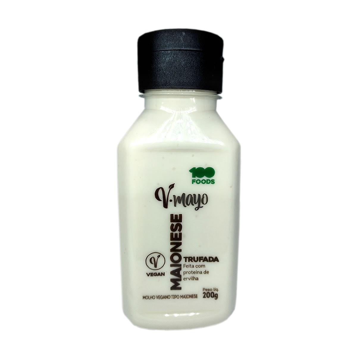 Maionese Vegana Trufada 200g - 100 Foods