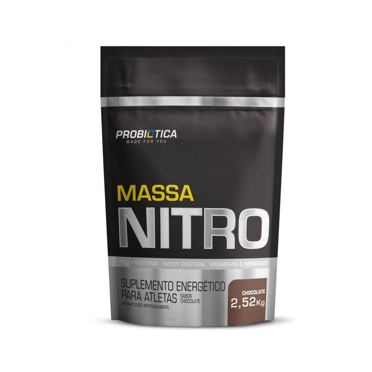 Massa Nitro Sabor Chocolate 2,520kg - Probiotica