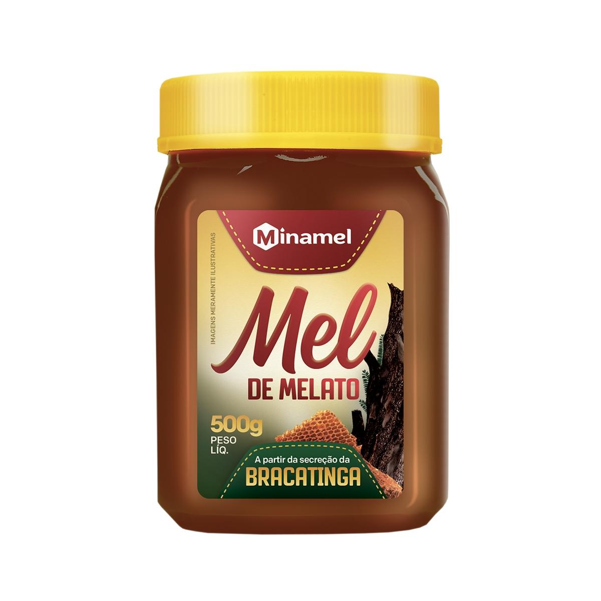 Mel de Melato de Bracatinga 500g - Minamel