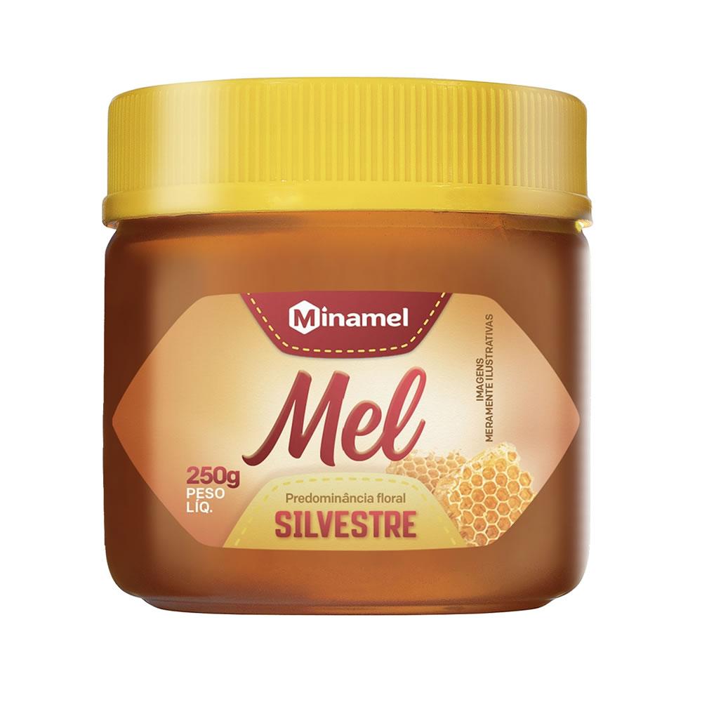 Mel Silvestre 250g - Minamel