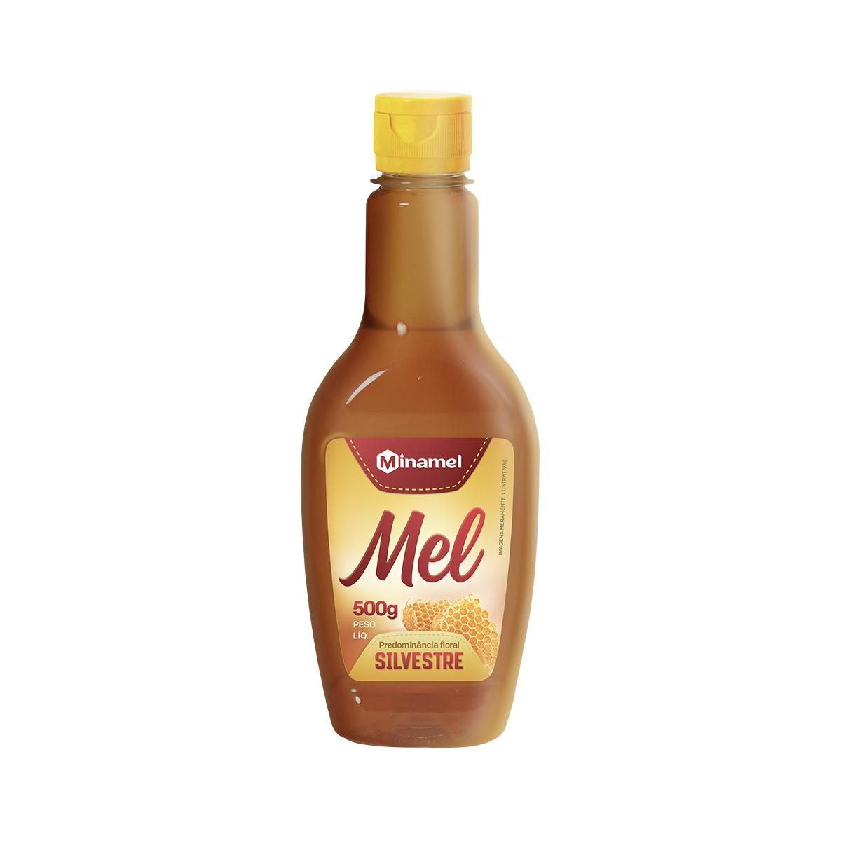 Mel Silvestre Bisnaga 500g - Minamel