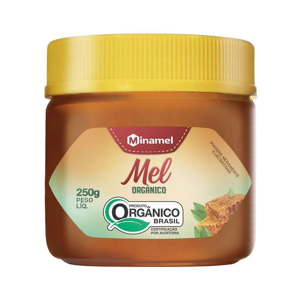 Mel Silvestre Orgânico 250g - Minamel
