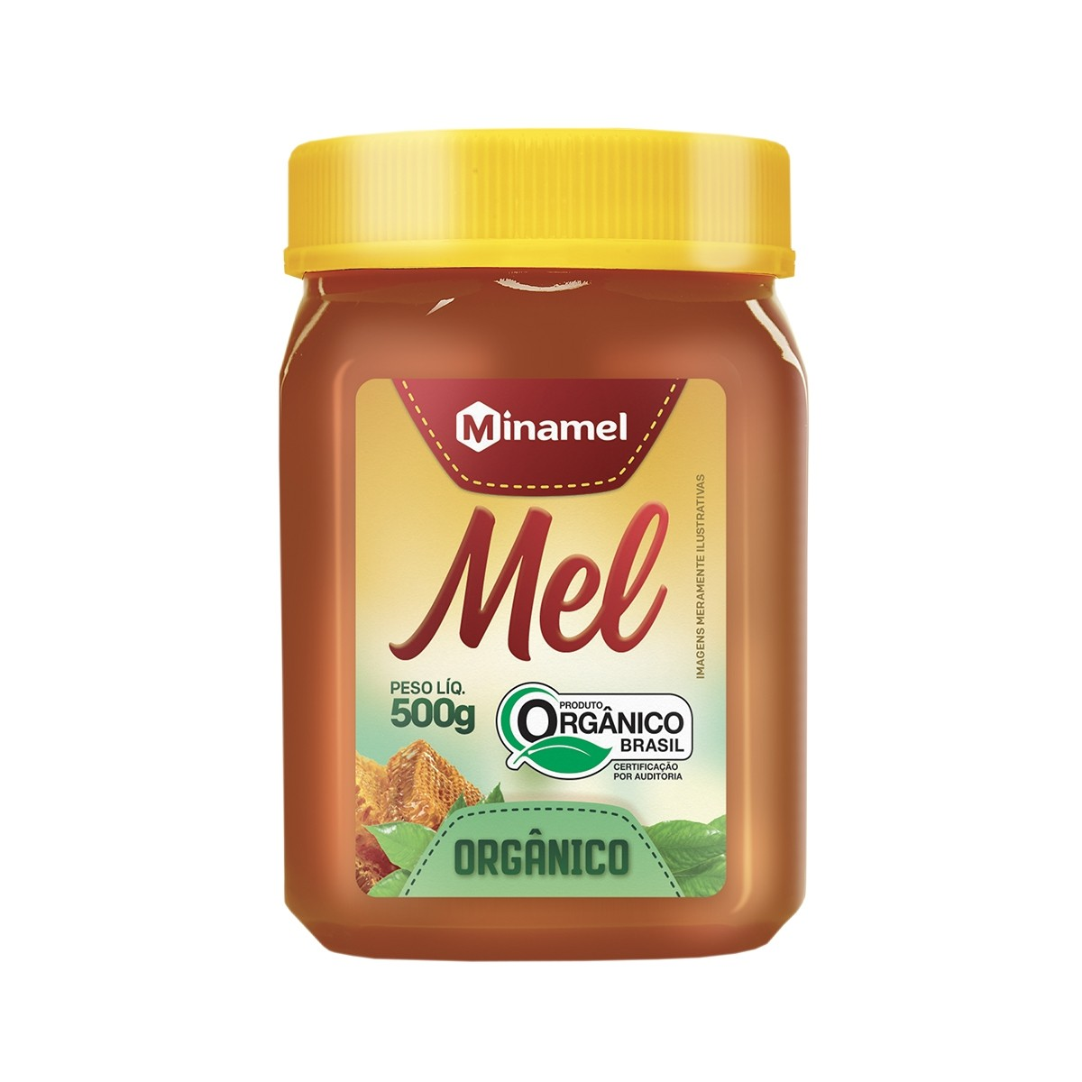Mel Silvestre Orgânico 500g - Minamel