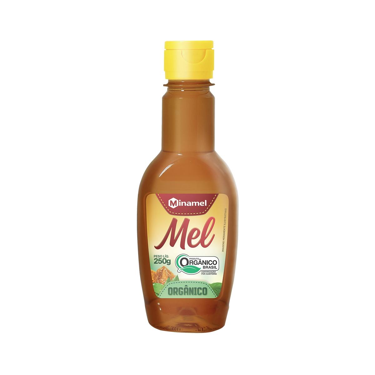 Mel Silvestre Orgânico Bisnaga 250g - Minamel
