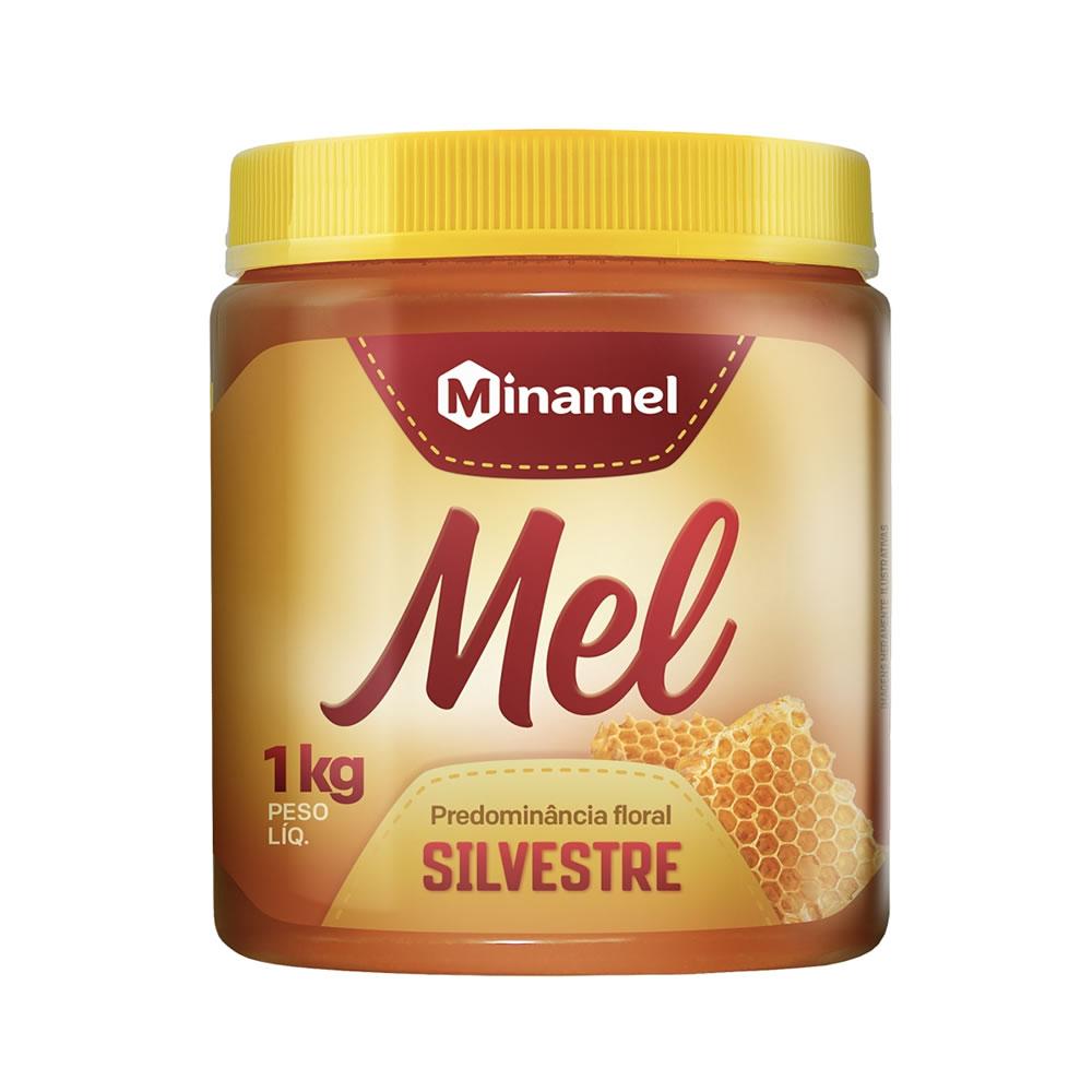 Mel Silvestre pote de 1kg - Minamel