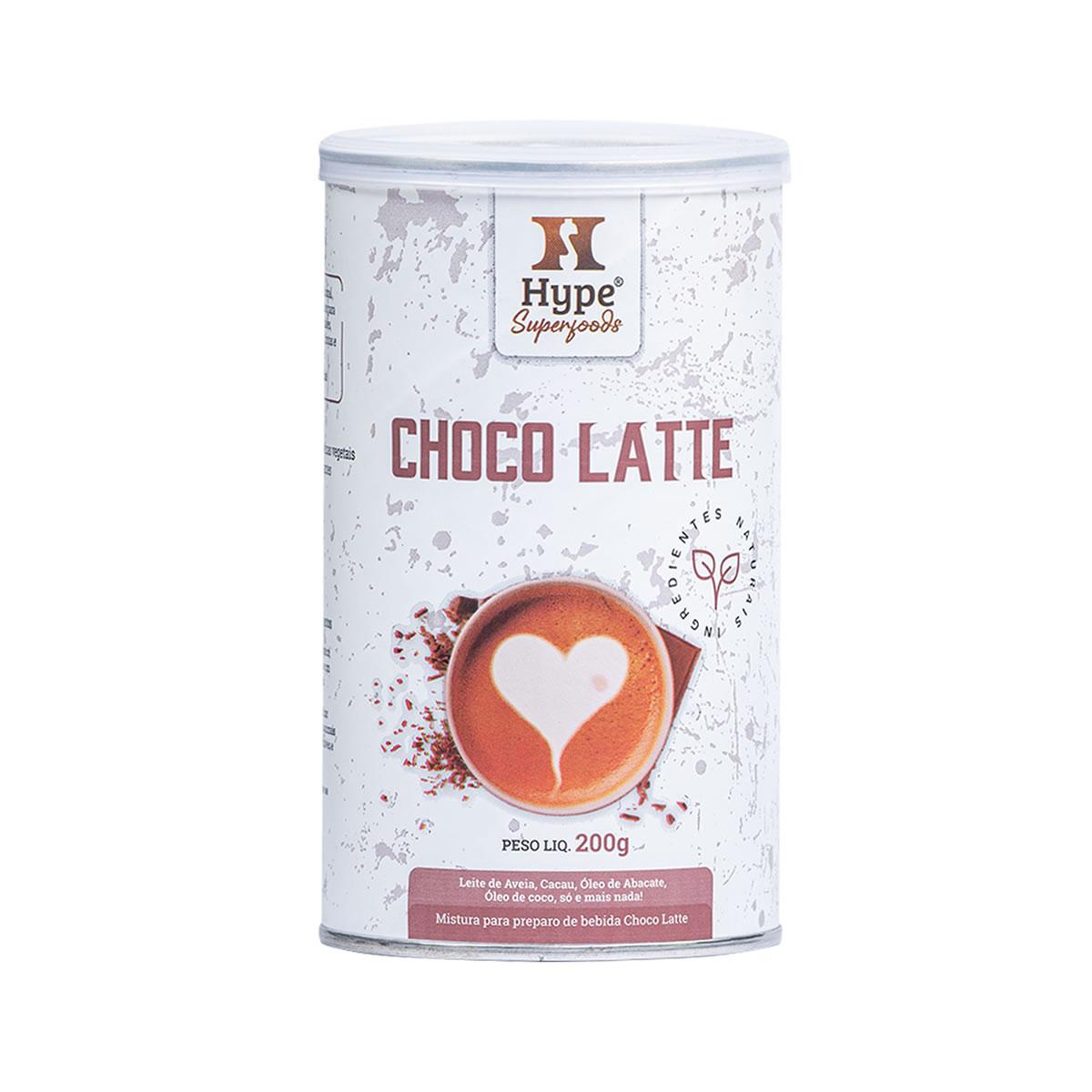 Mistura para preparo de Bebida Choco Latte 200g - Hype