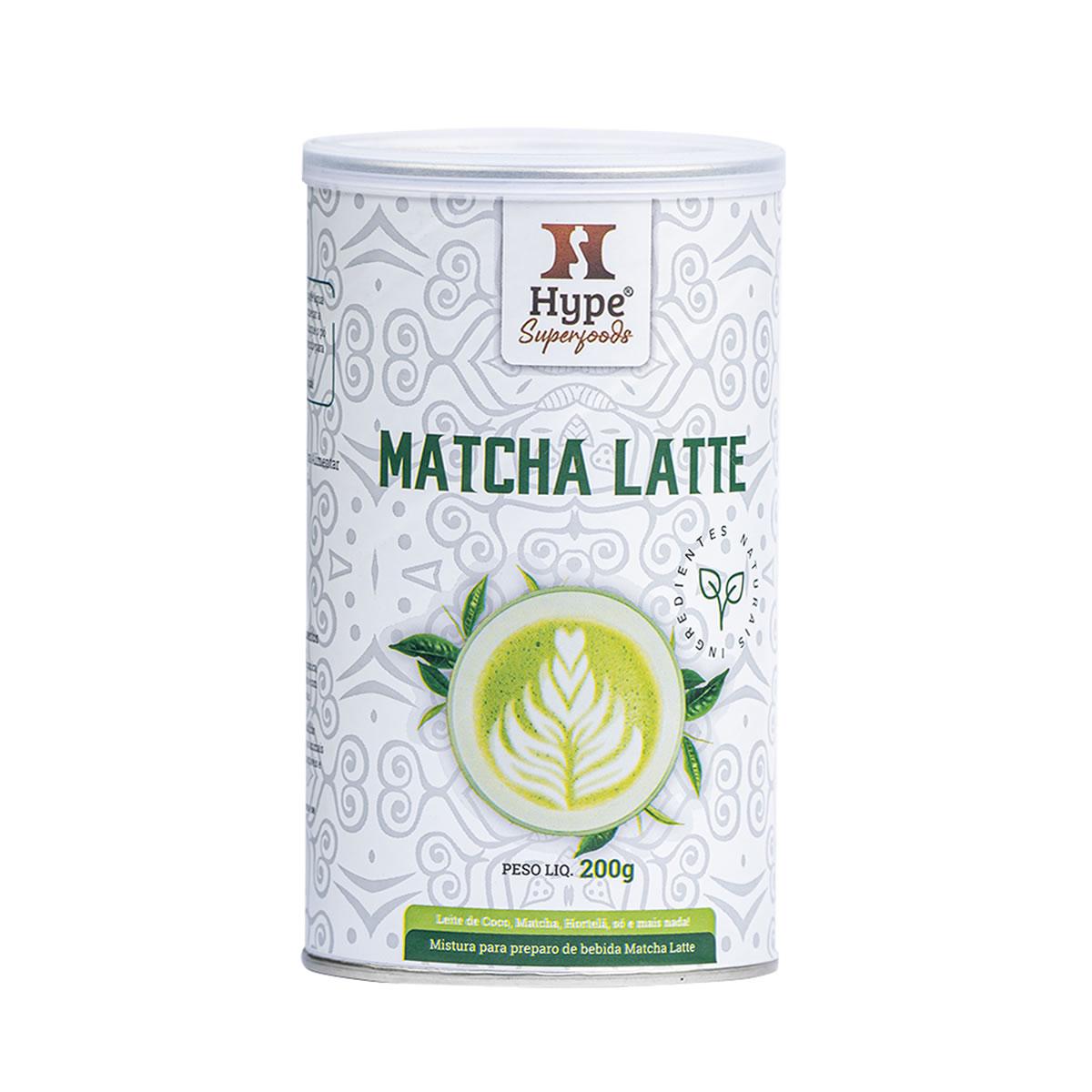 Mistura para preparo de Bebida Matcha Latte 200g - Hype
