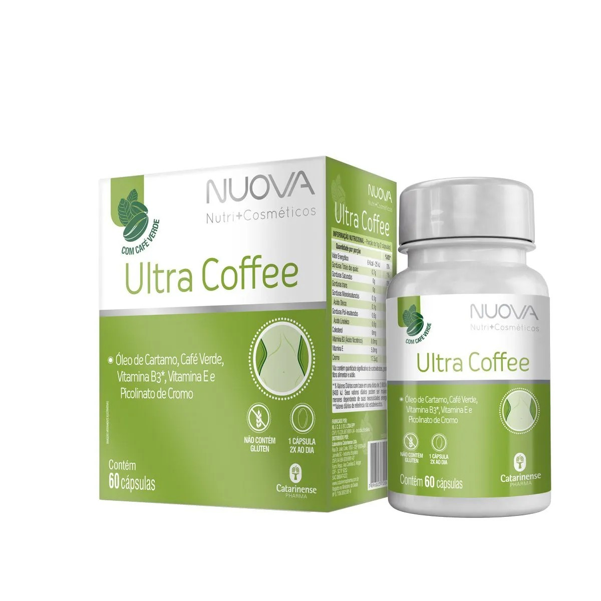 Nuova Ultra Coffee Nuova 60 cápsulas - Catarinense