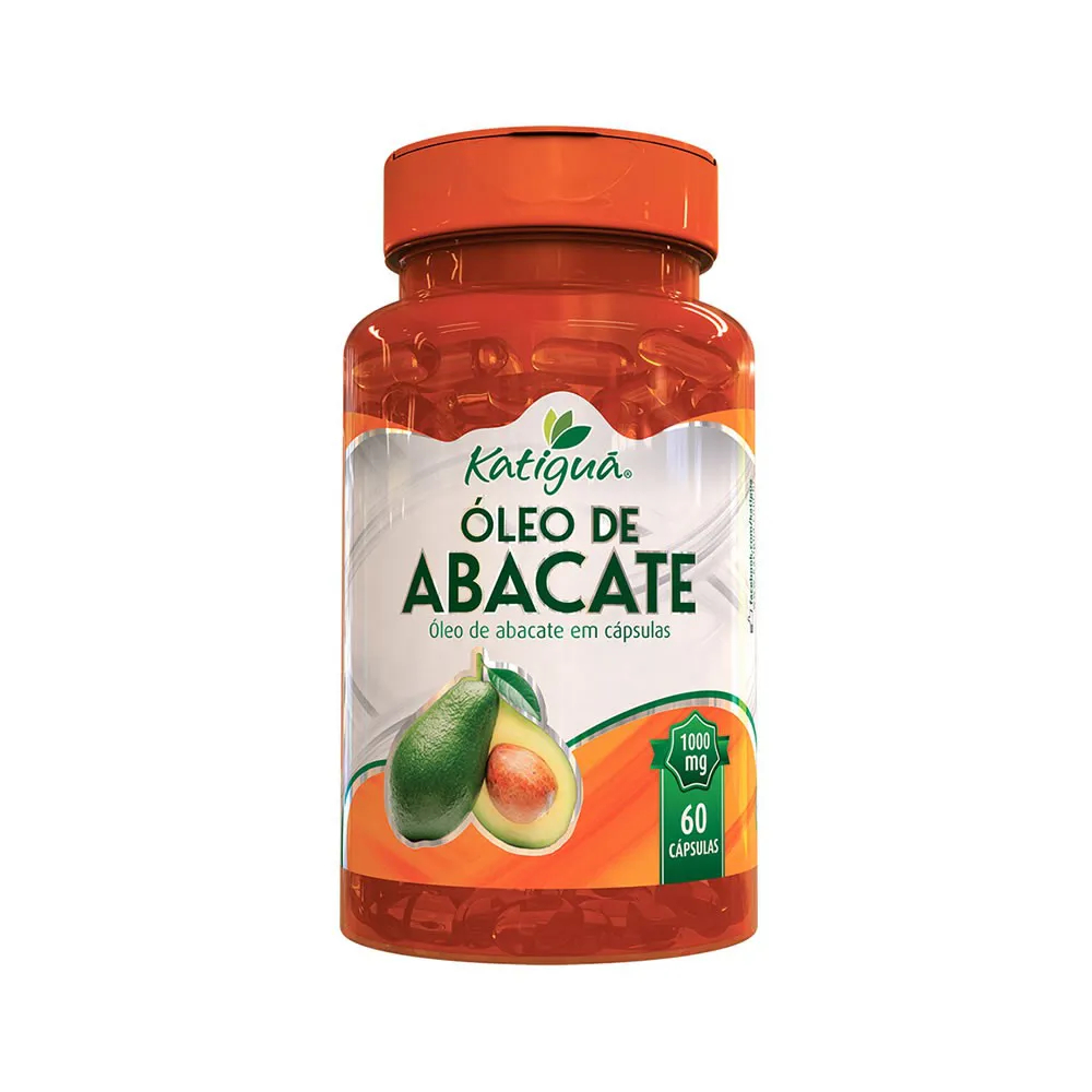 Óleo de Abacate 1000mg 60 Cápsulas - Katiguá