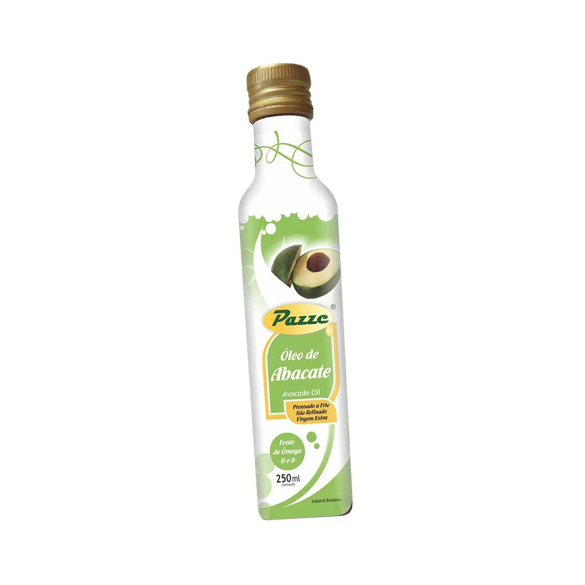 Óleo de Abacate Extra Virgem 250ml - Pazze
