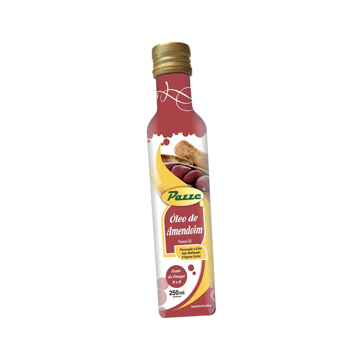 Óleo de Amendoim Extra Virgem 250ml - Pazze