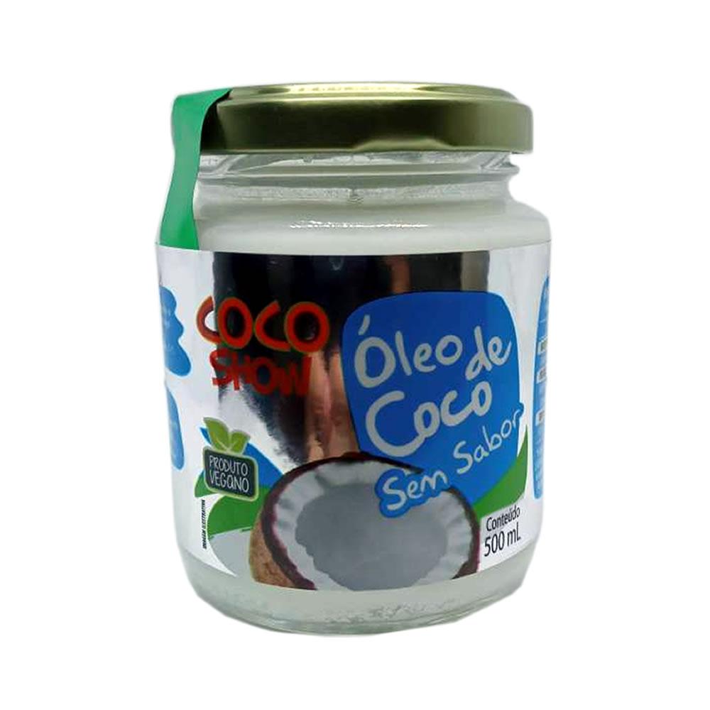 Óleo de Coco Sem Sabor 500ml - Coco Show