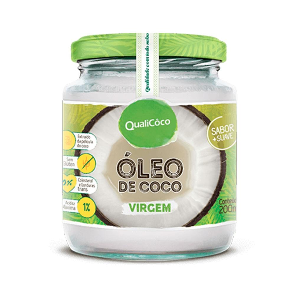 Óleo de Coco virgem 200ml - Qualicoco