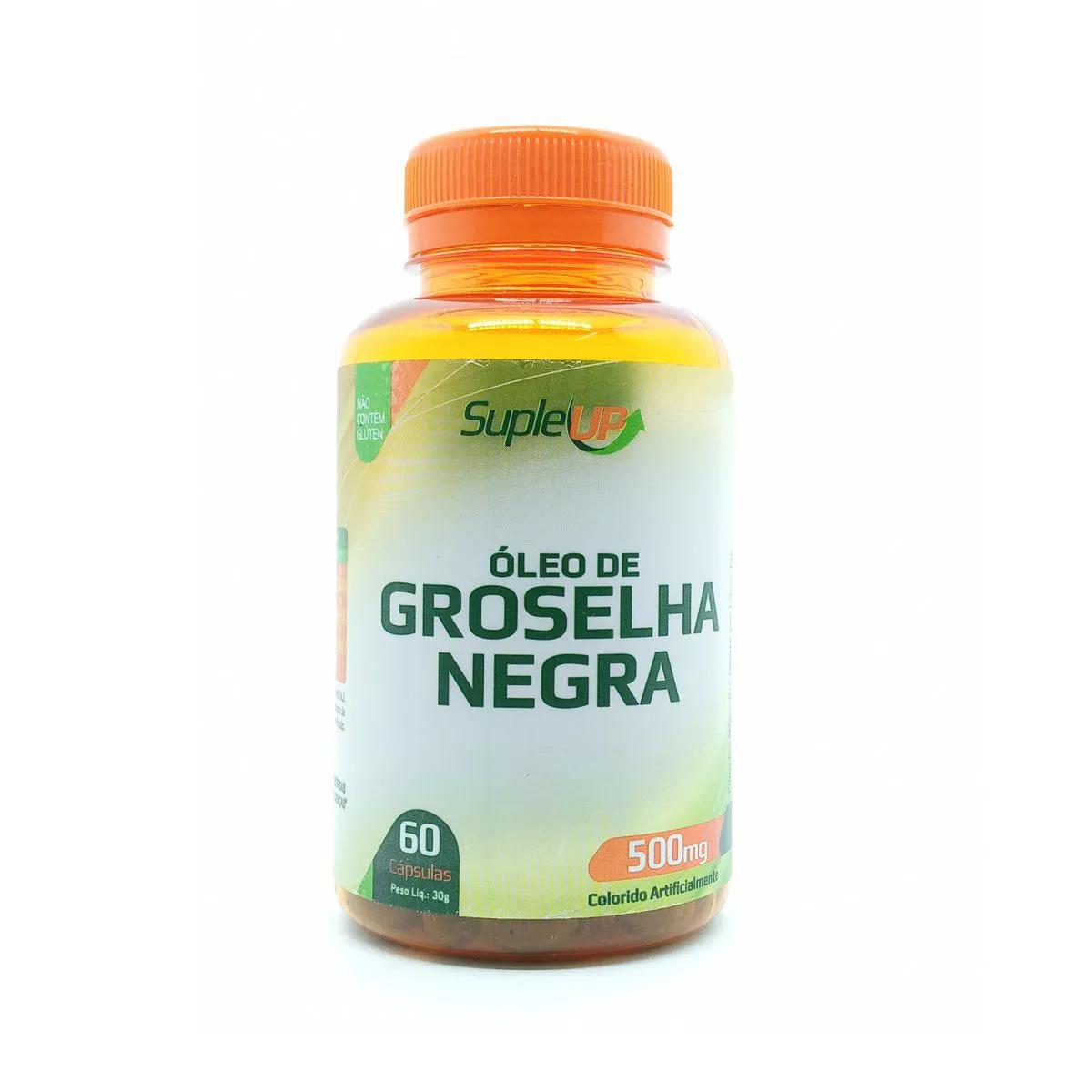 Óleo de Groselha Negra 500mg 60 cápsulas - Suple Up