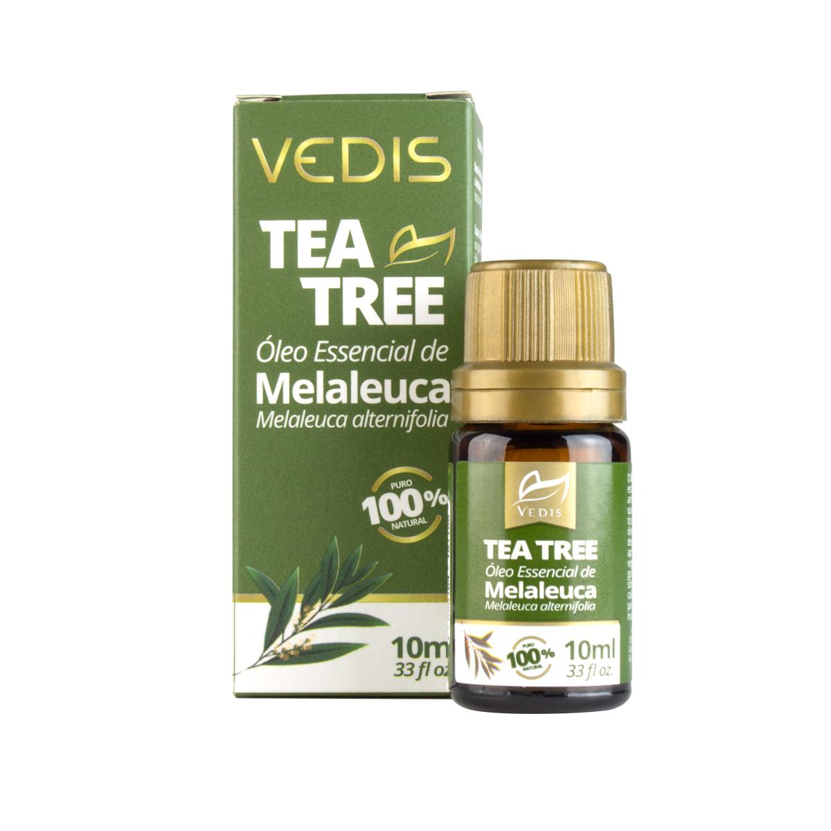Óleo Essencial de Melaleuca 10ml  - Vedis