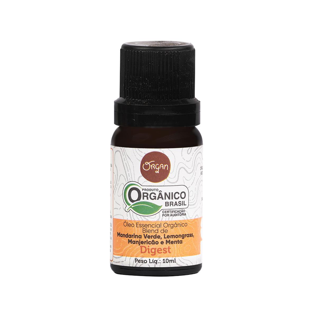 Óleo Essencial Orgânico Digest 10ml - Organ