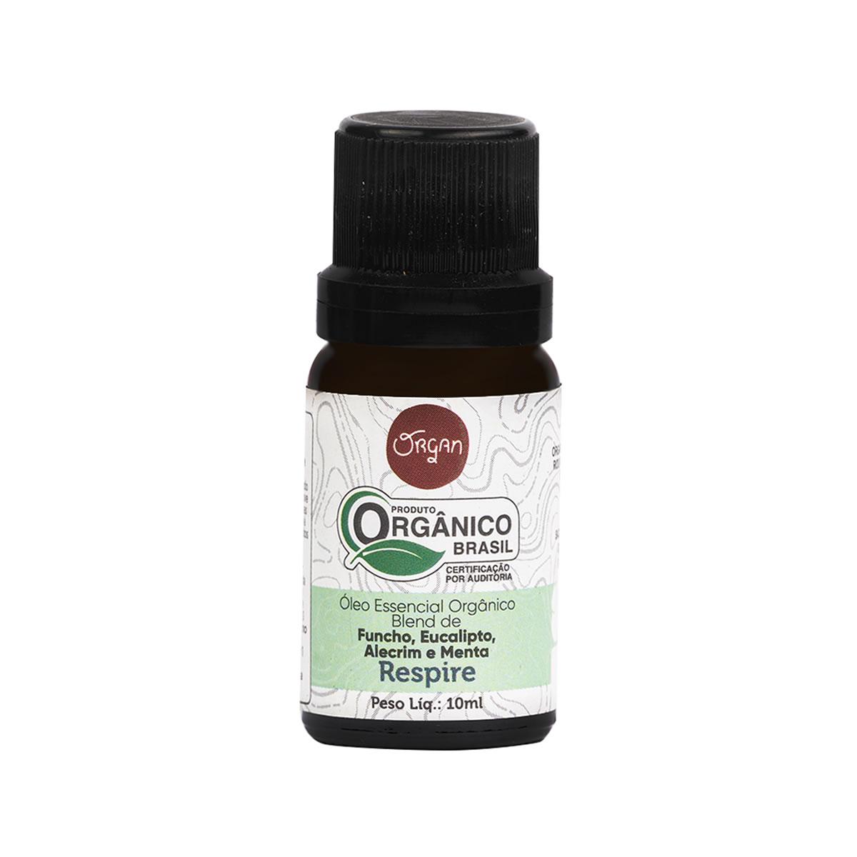 Óleo Essencial Orgânico Respire 10ml - Organ