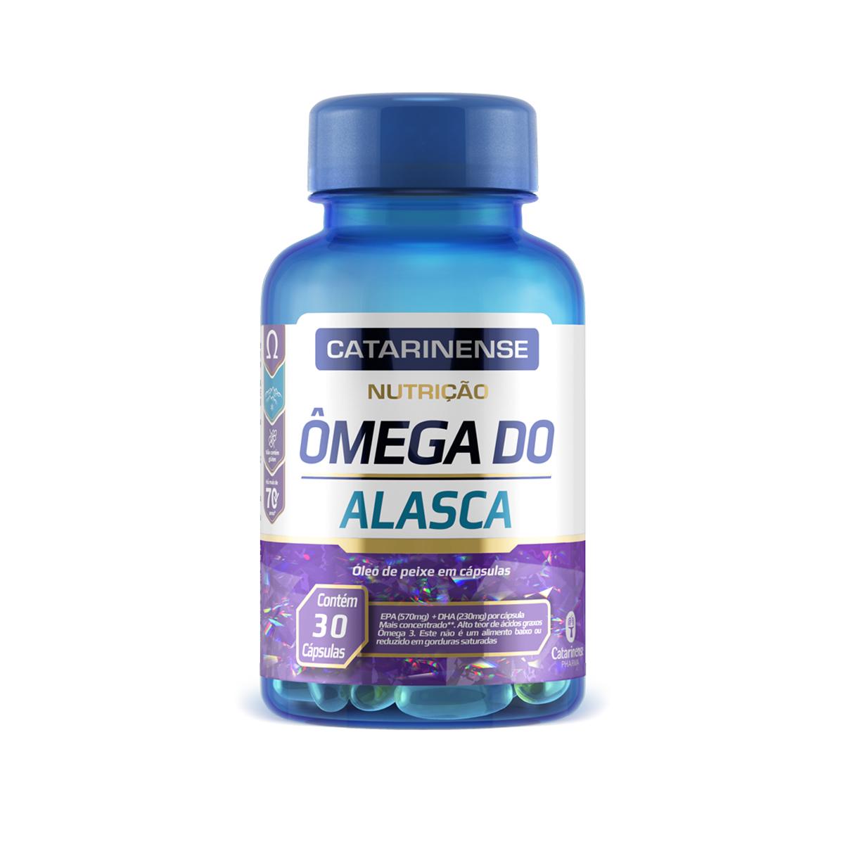 Ômega do Alasca DHA EPA 30 Cápsulas  - Catarinense