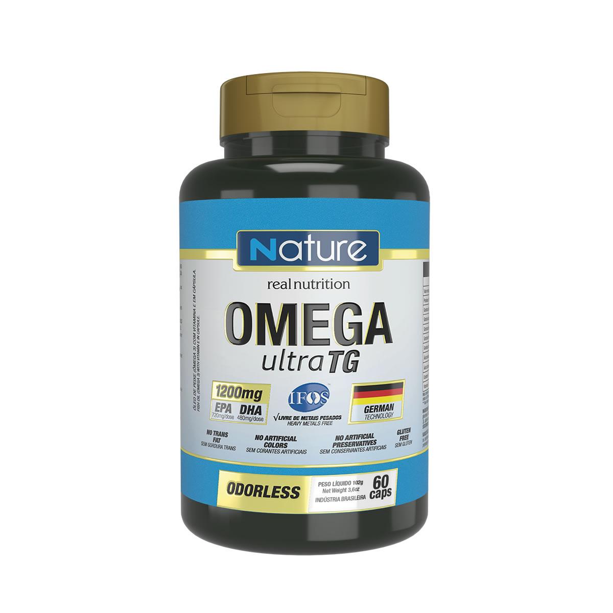Omega Ultra TG 1200mg 60 cápsulas - Nutrata