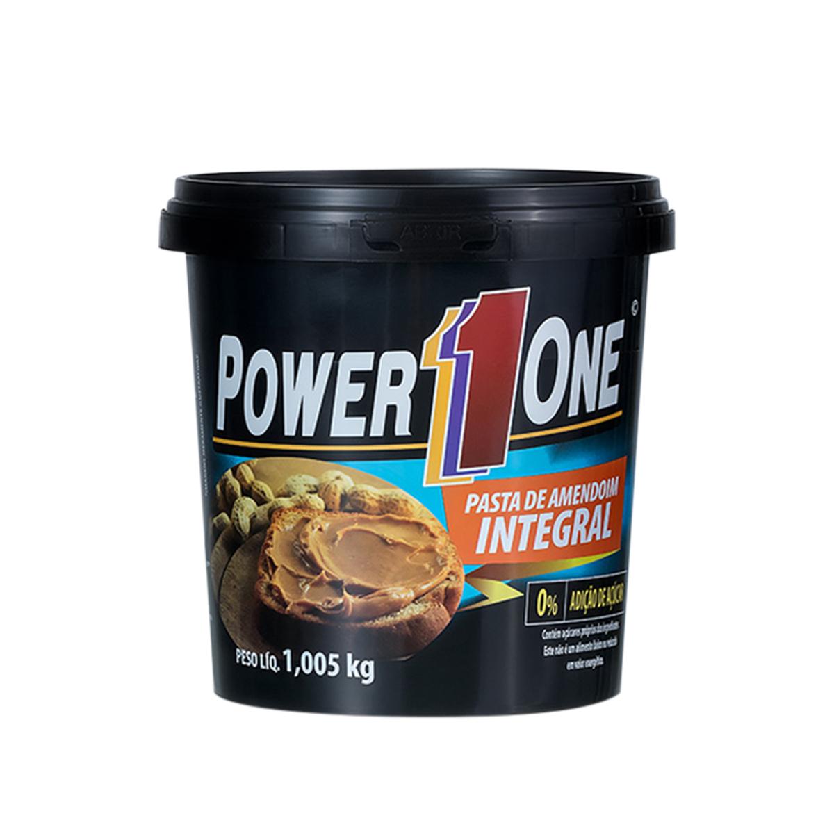 Pasta Amendoim Integral Zero 1,005kg - Power1One