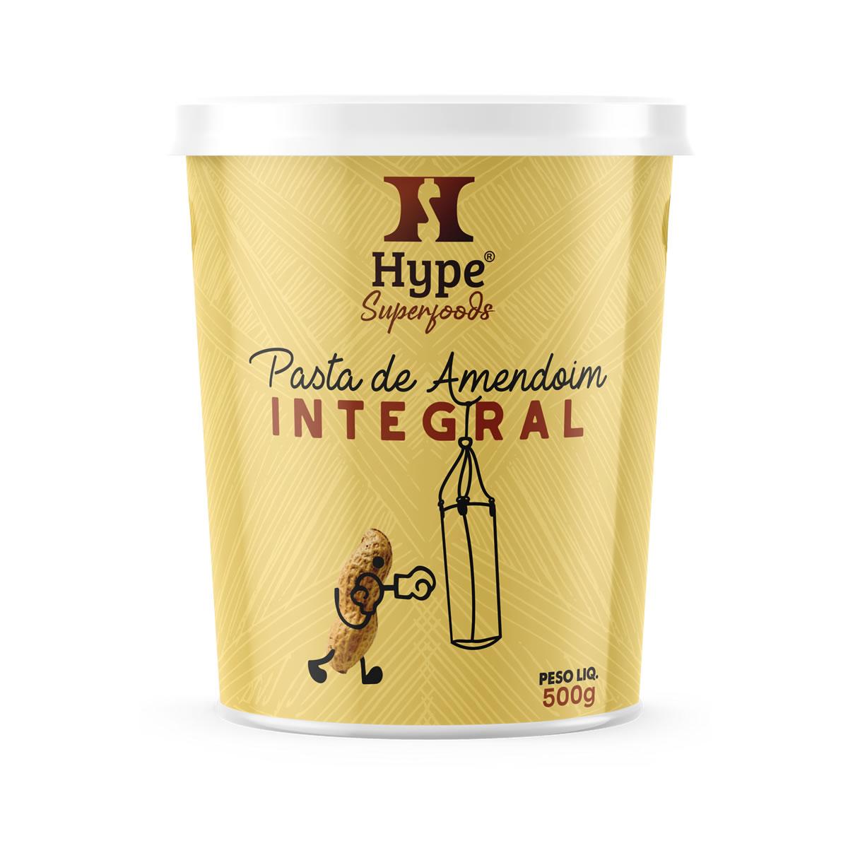 Pasta de Amendoim Integral 500g - Hype