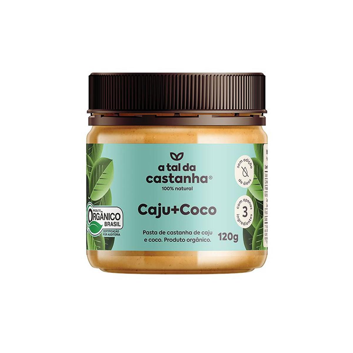 Pasta de Castanha de Caju e Coco Orgânico 120g - A Tal da Castanha