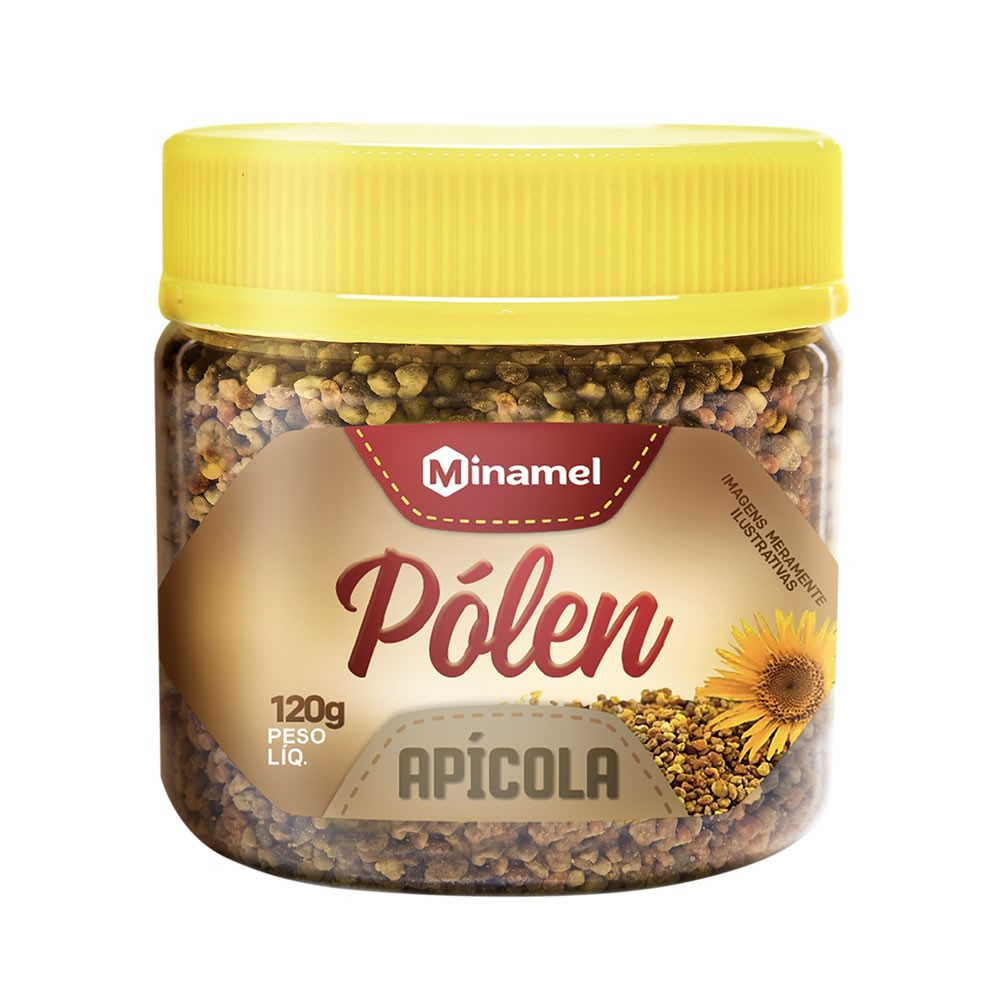 Polén Apícola de 120g  - Minamel