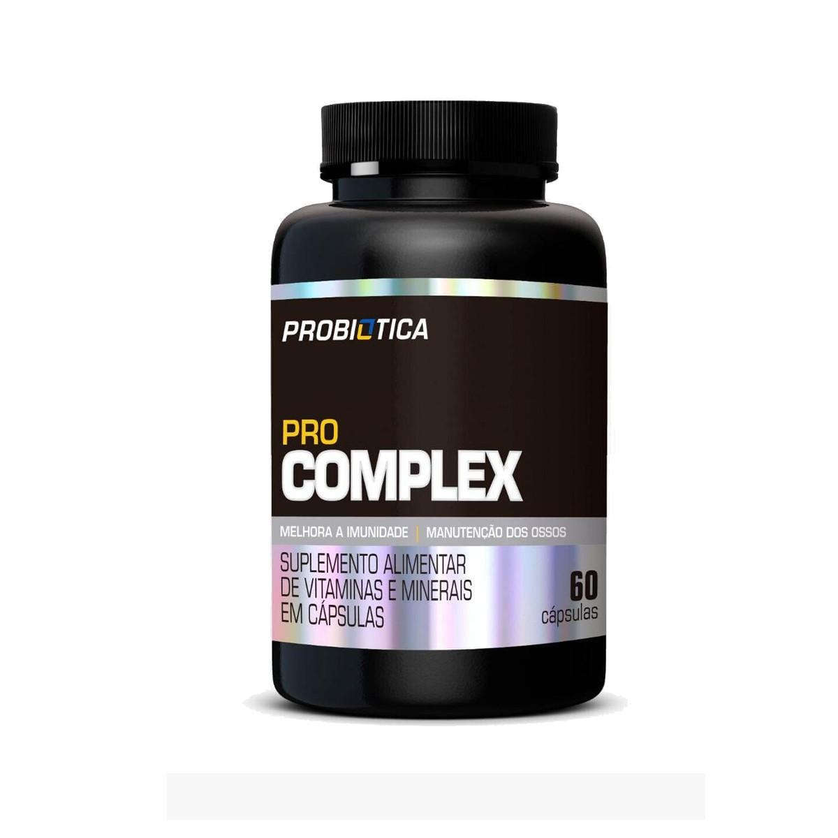 Pro Complex 60 Cápsulas - Probiotica