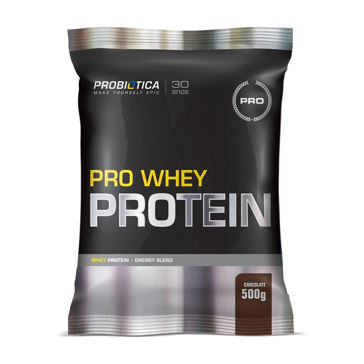 Pro Whey Protein Sabor Chocolate 500g - Probiotica