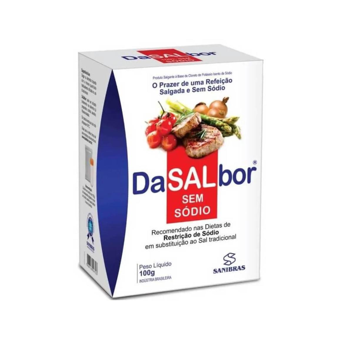 Sal sem Sódio 100g - Sanibras