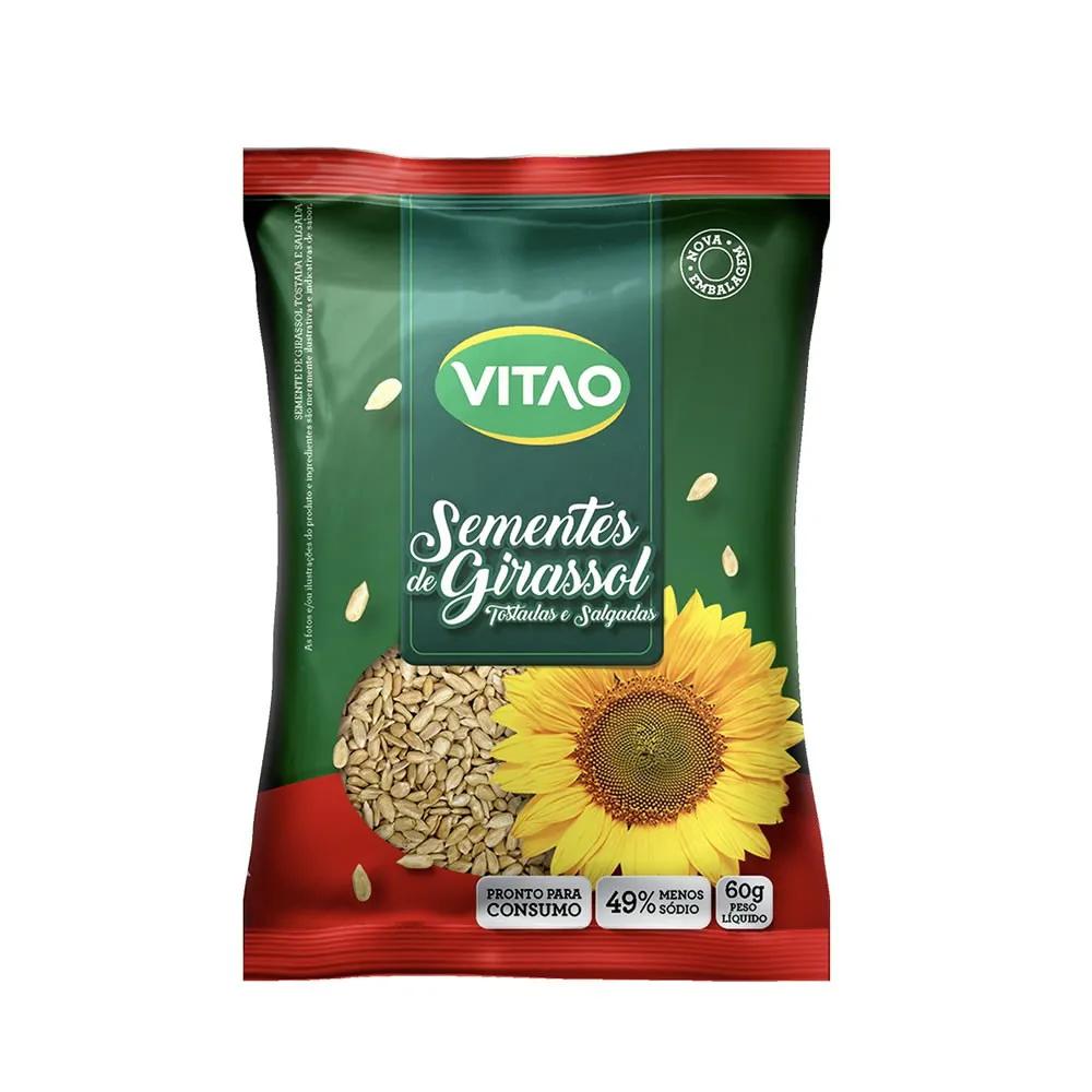 Semente de Girassol Tostada e Salgada 60g - Vitao