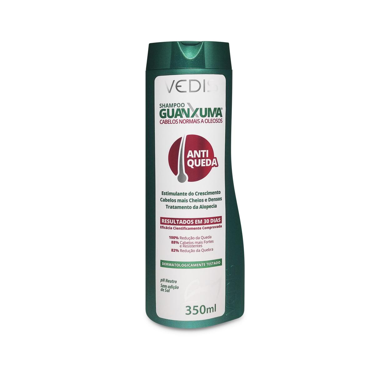 Shampoo Guanxuma Para Cabelos Oleosos 350ml - Vedis