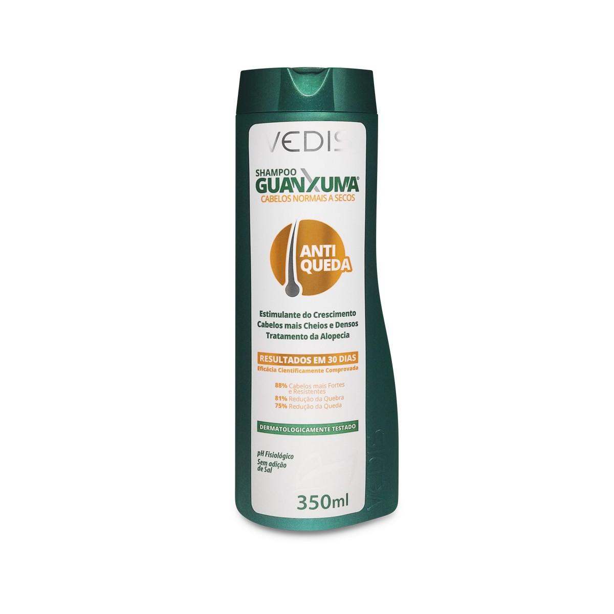 Shampoo Guanxuma Para Cabelos Secos 350ml - Vedis