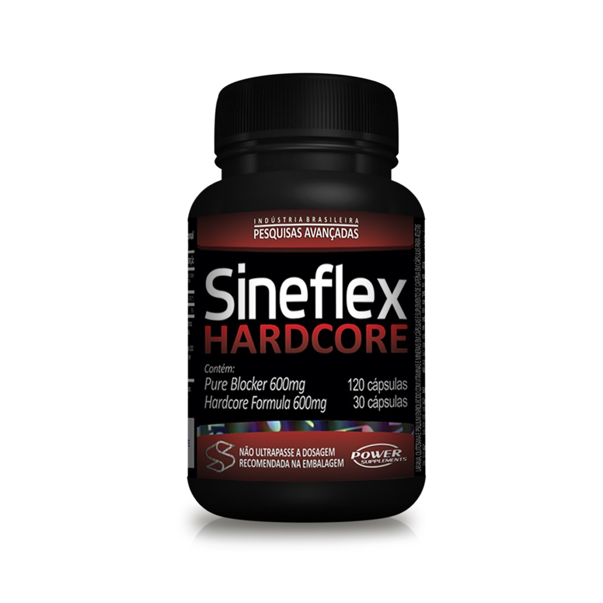 Sineflex Hardcore 600mg 150 cápsulas - Power Supplements