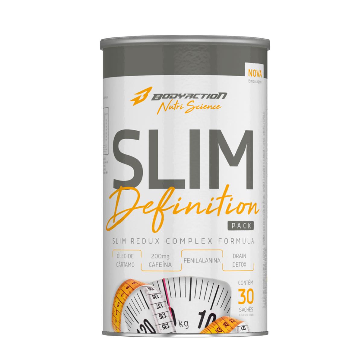 Slim Definition PRO-F com 30 packs - Bodyaction