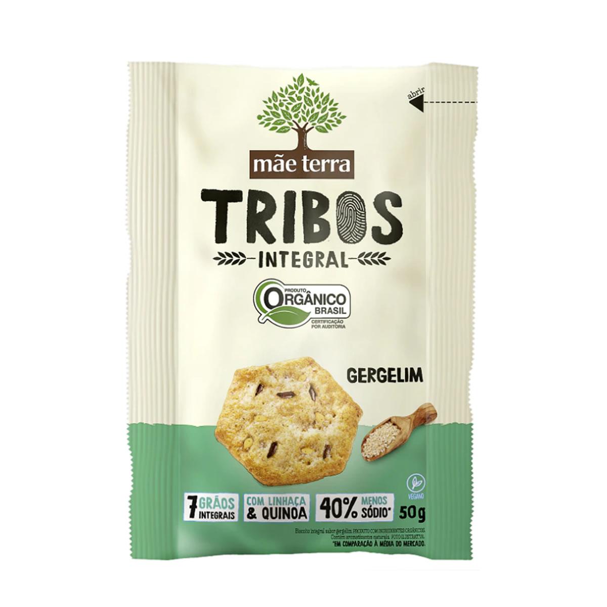 Snack Tribos Orgânico Gergelim 50g - Mãe Terra