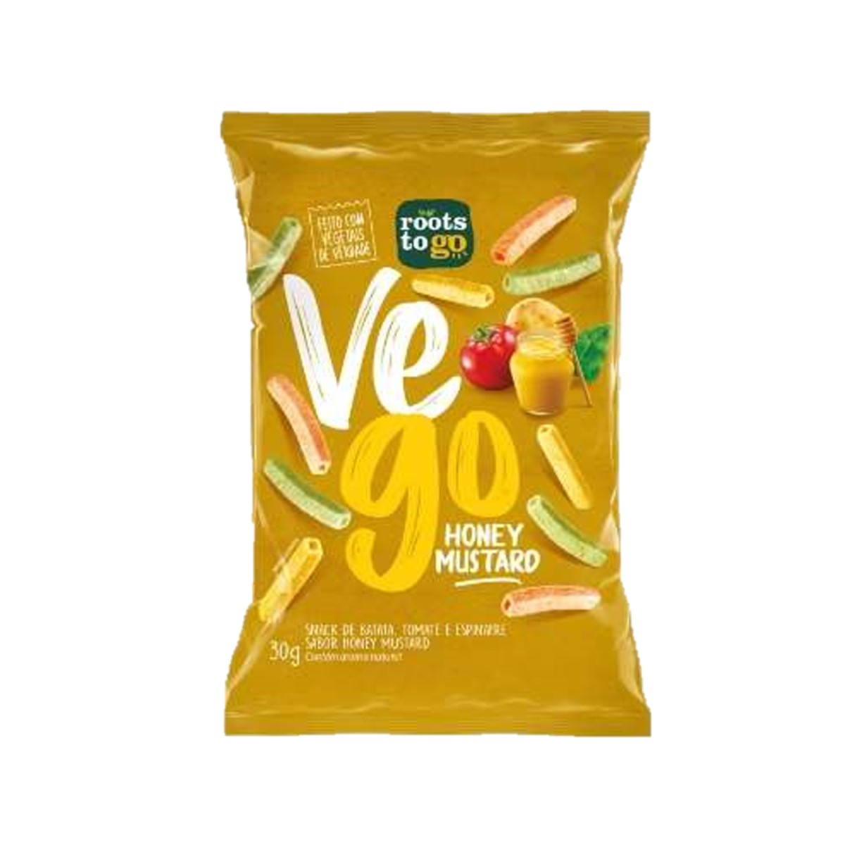 Snack Vego Sabor Honey Mustard 30g - Roots To Go