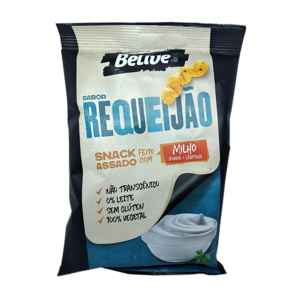 Snacks de Milho Sabor Requeijão 35g - Belive